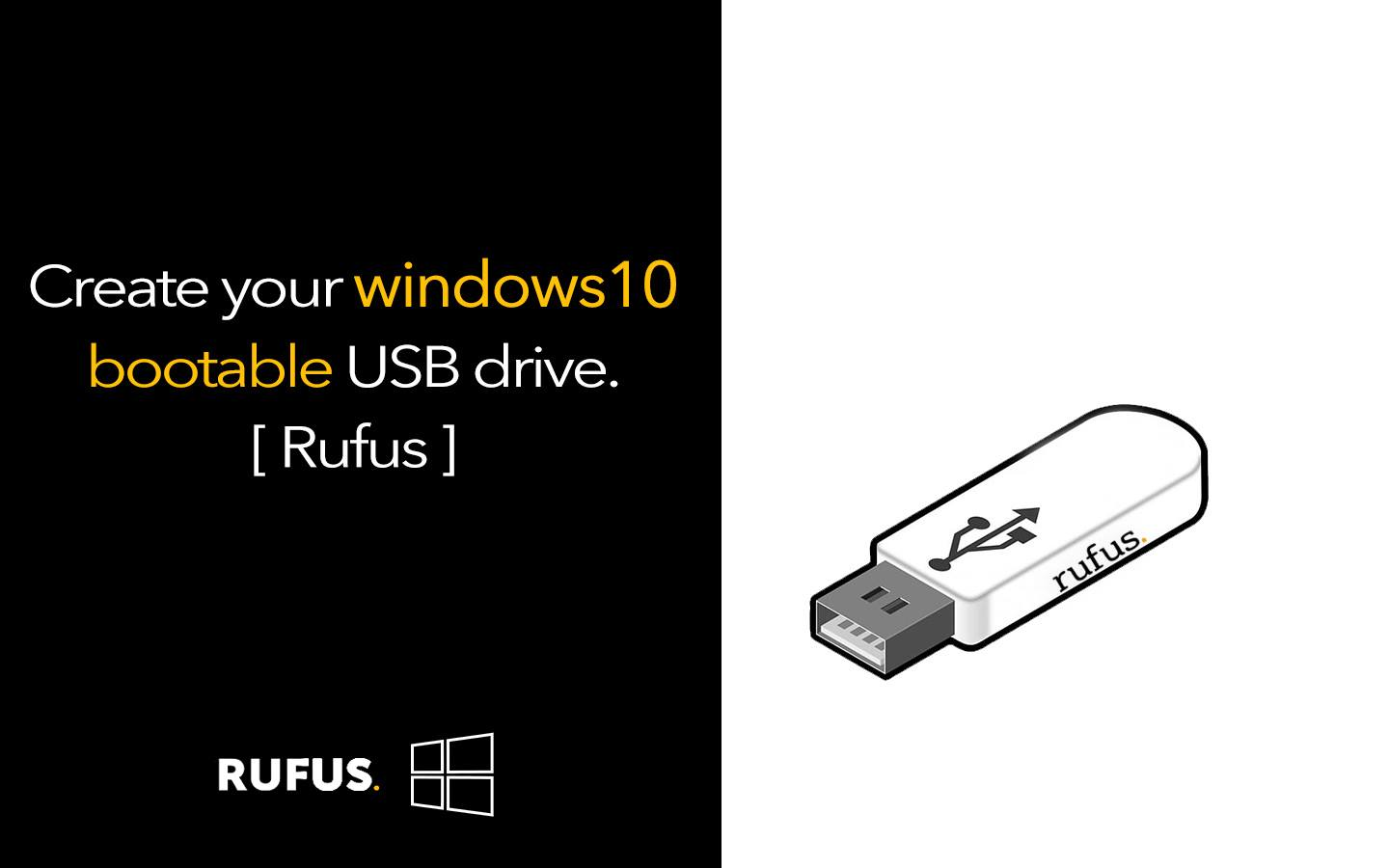 Rufus for Windows
